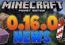 Особенности обновлённой Minecraft 0.16.0 полной версии
